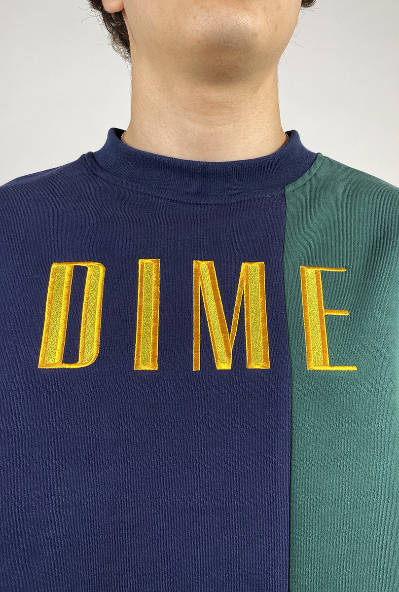 DEAR GEORGE BLOCK TERRY CREWNECK DIME