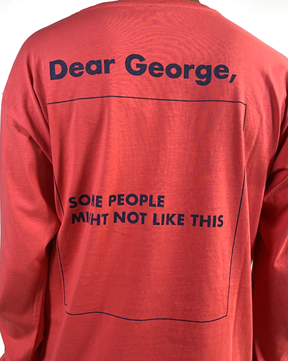 DEAR GEORGE, TSHIRT ML SOME PEOPLE PINK NAVY