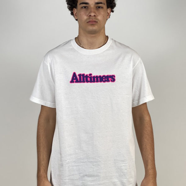DEAR GEORGE BROADWAY TEE WHITE ALLTIMERS