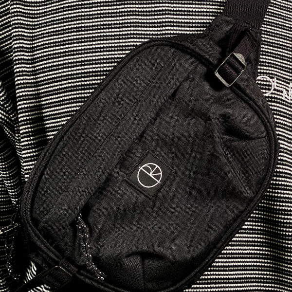 DEAR GEORGE DEAR GEORGE POLAR CORDURA HIP BAG BLACK