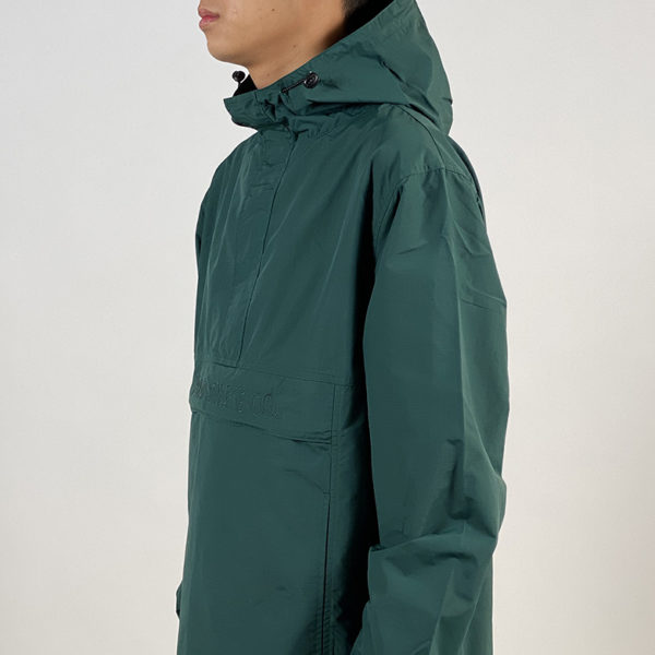 DEAR GEORGE POLAR ANORAK JACKET POLAR SKATE CO EMERALD