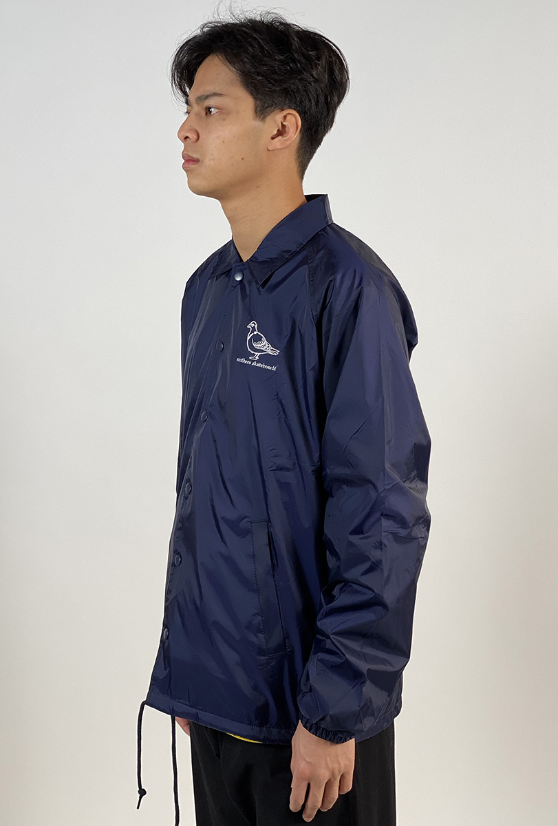 DEAR GEORGE ANTIHERO LIL PIGEON COACH JACKET NAVY