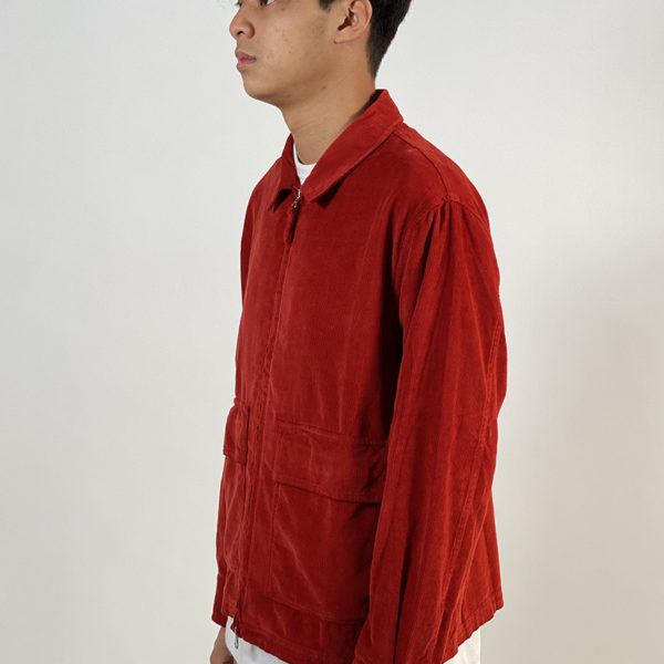 DEAR GEORGE POP FULLZIP JACKET RED