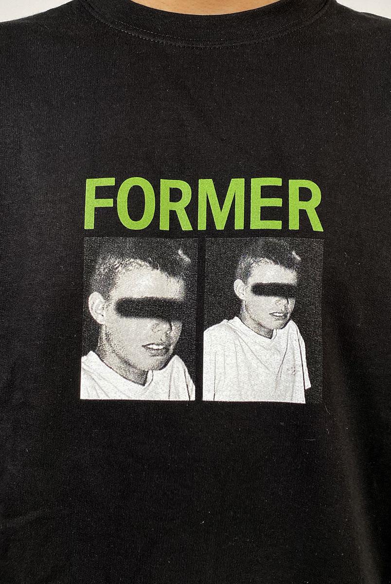 DEAR GEORGE FORMER INDUSTRY CREWNECK BLACK