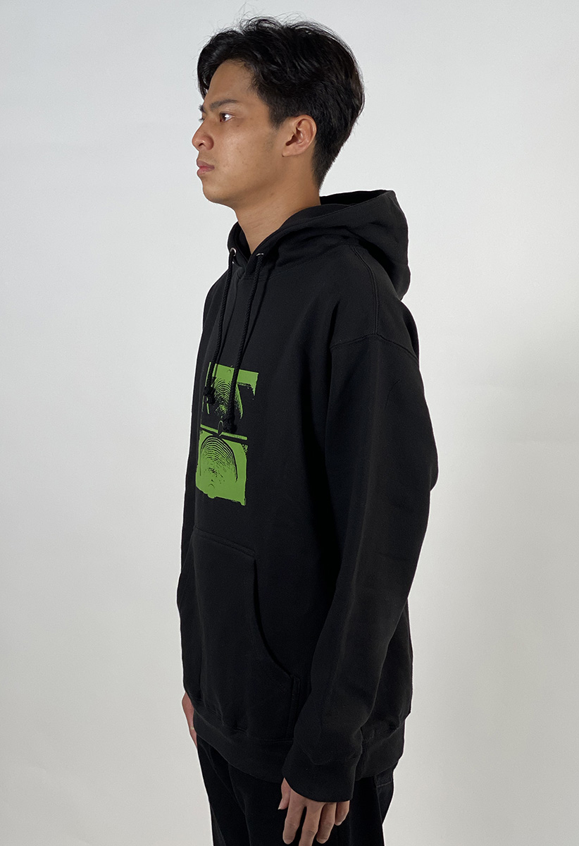 DEAR GEORGE FORMER CRUX HOOD BLACK GREEN