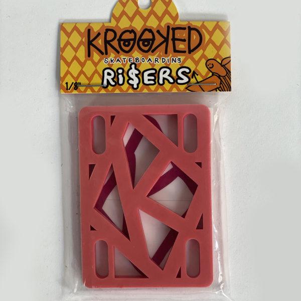 DEAR GEORGE KROOKED PAD RISER 1/8 PINK