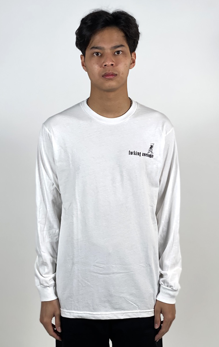 IMG_2395DEAR GEORGE FUCKING AWESOME WIZARDS L/S TEE WHITE