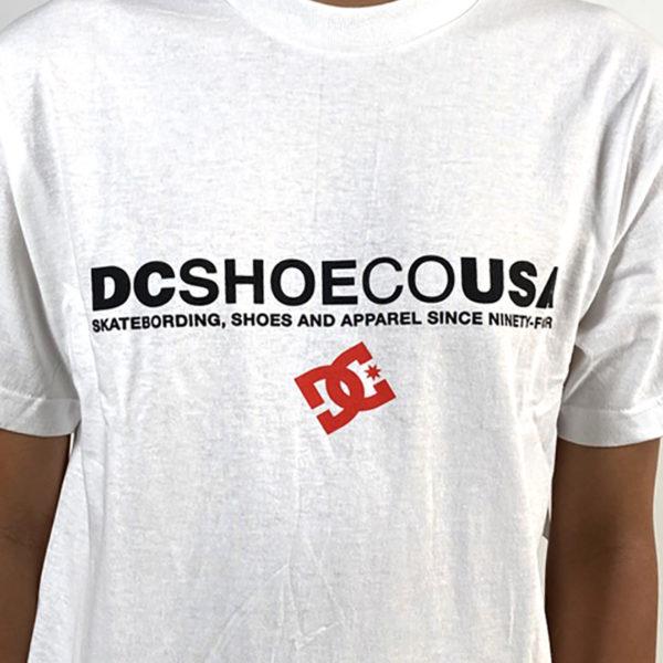 DEAR GEORGE DC USA SS DC TSHIRT WHITE