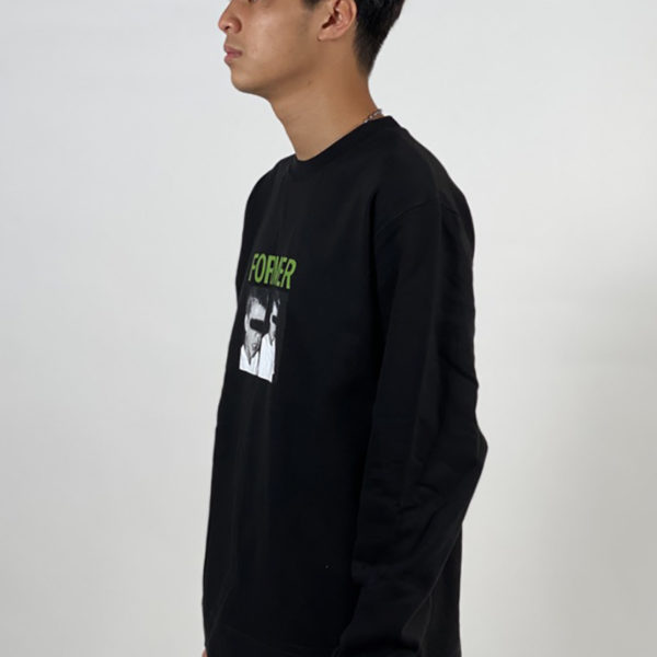 DEAR GEORGE FORMER INDUSTRY CREWNECK BLACK