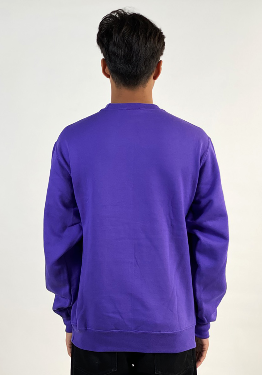 DEAR GEORGE HOCKEY BAGHEAD 2 CREWNECK - PURPLE